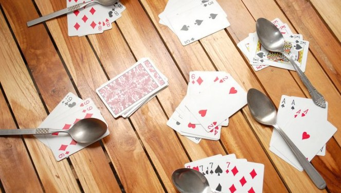 Image result for spoons card game