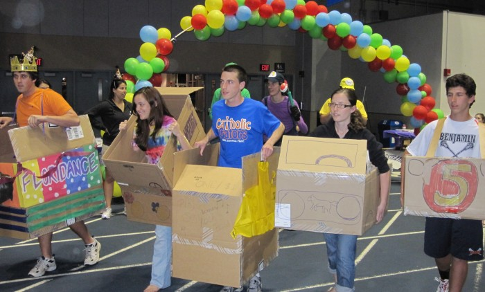 relay race ideas for adults