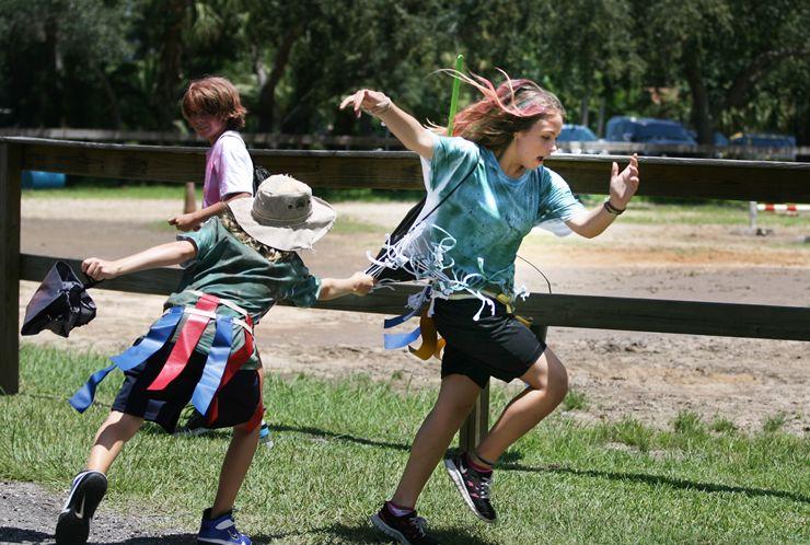 Active Camp Games