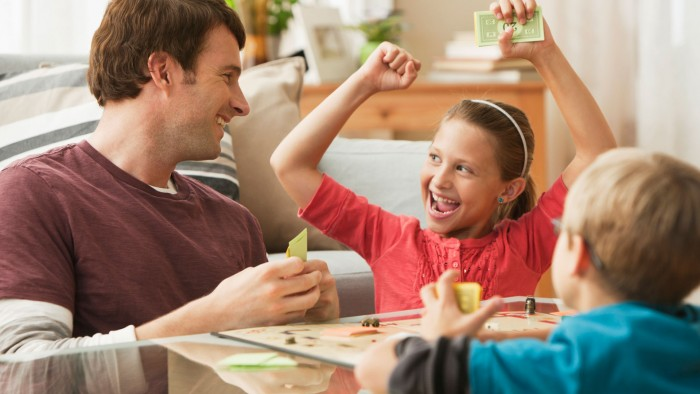 Best Games for Families with Children Ages Seven and Up