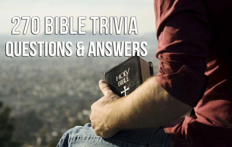 bible trivia questions and answers multiple choice pdf