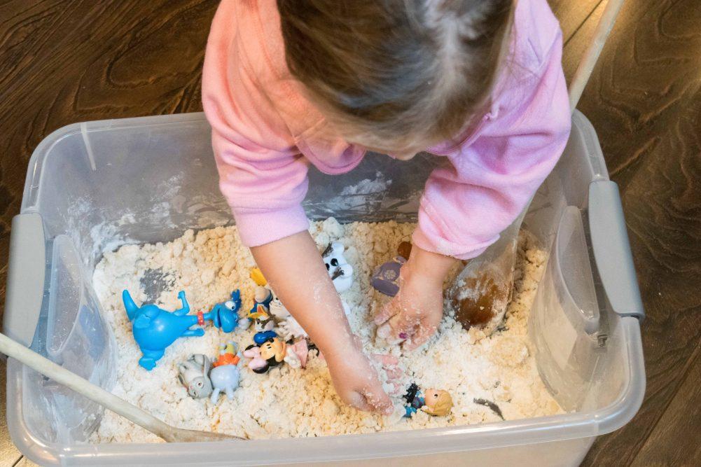 Moon Sand Recipe - How to make Moon Sand?
