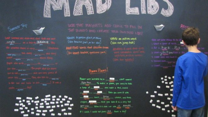 Mad Libs Game [+ Word Lists for Mad Libs]