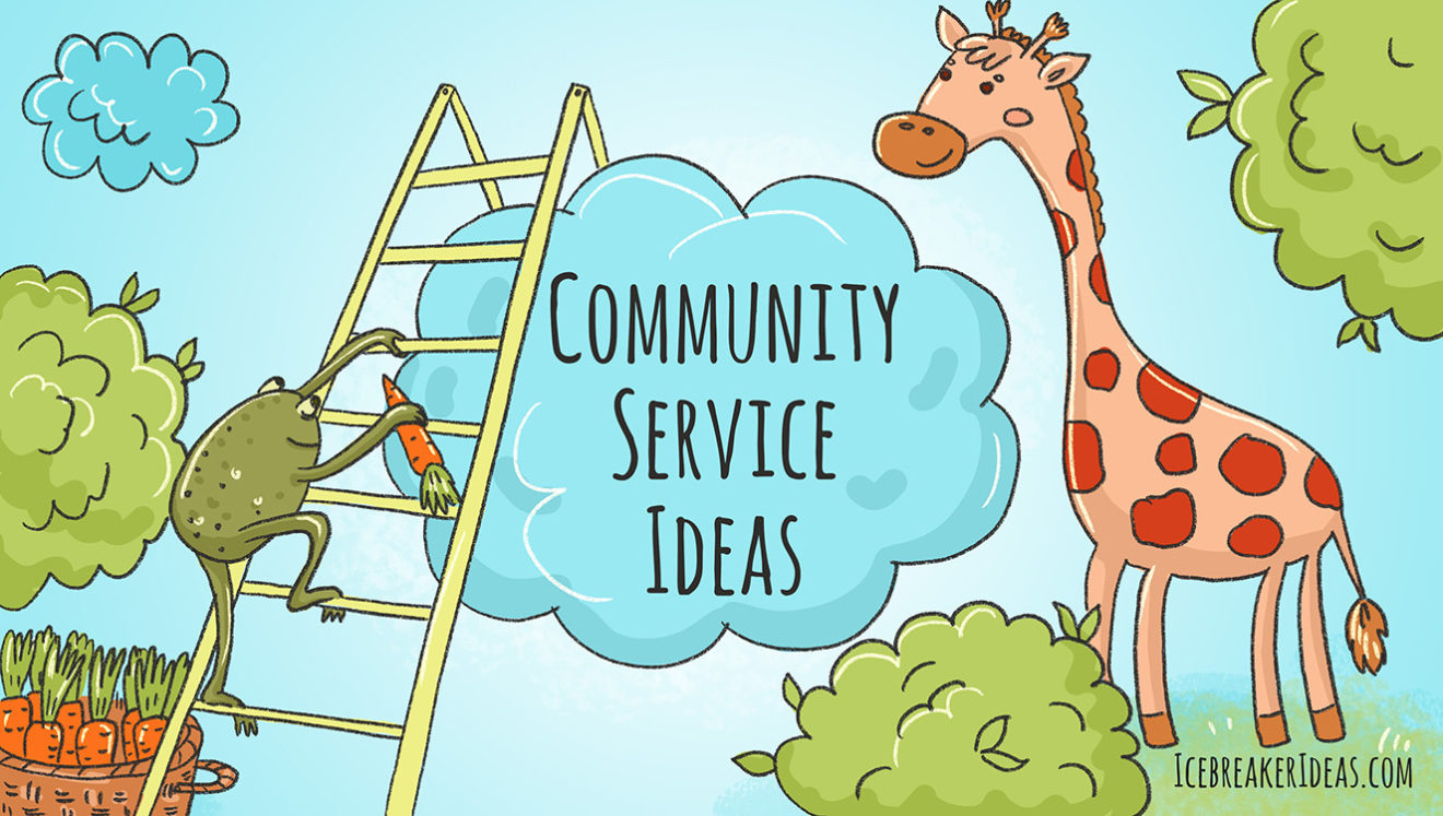 Community service ideas for adults