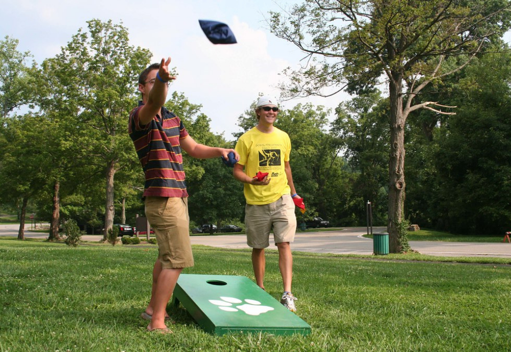 The Proper Cornhole Set-Up